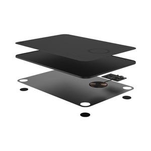 Image 4 - Коврик для мыши Xiaomi MIIIW QI, коврик для беспроводной зарядки из поликарбоната для iPhone, Samsung, Xiaomi, Huawei, быстрое зарядное устройство