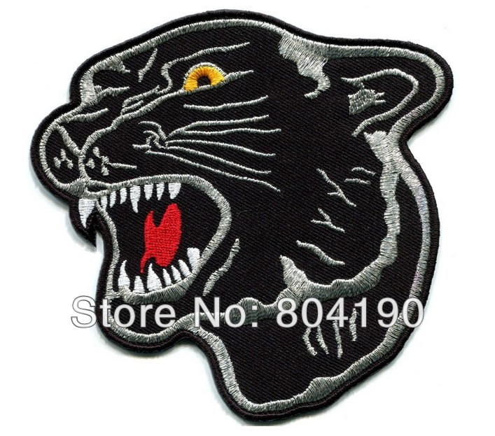 Biker Vest Patches Patches Sew On Service cougar cool animal biker vest tattoo rock punk applique iron on sew ...