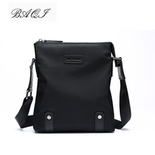 BAQI Brand Men Handbags Oxford Cloth Waterproof 2019 Fashion Men Shoulder Bag Crossbody Messenger Bags High Quality Casual Bag