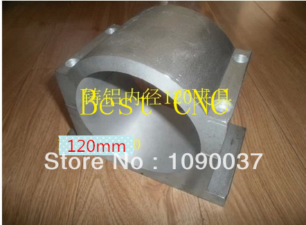 ФОТО 120mm spindle chuck Spindle motor fixture Spindle Chuck for CNC Router spindle mounts 120mm