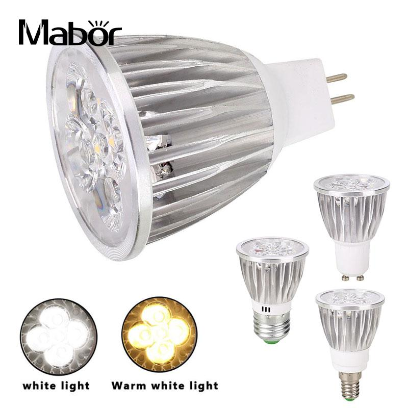 Spotlight Bulb Eco-Friendly Party Supply 12V 15W Indoor Outdoor White/ Warm White Household Accessory LED Bulb Lighting Fixture