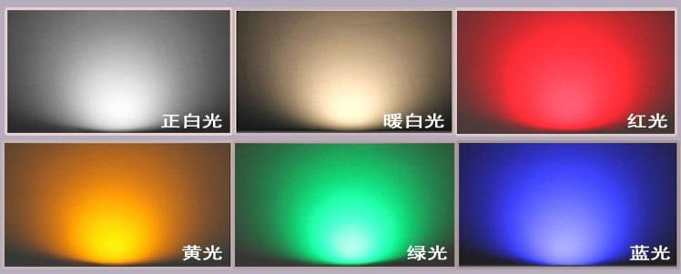 w passo diodo emissor de luz luz