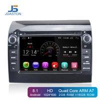 JDASTON Android 8.1 Car DVD Player For Fiat Ducato 2008 2015 CITROEN Jumper PEUGEOT Boxer GPS Navi Car Radio Stereo multimedia
