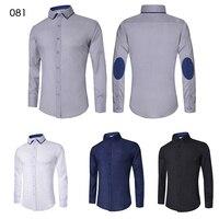 Men's Casual Slim Fit Dress Shirt 4