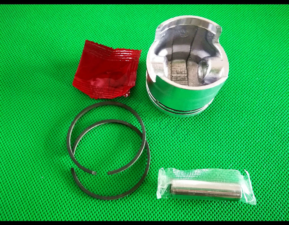 44mm 52CC 1E44F-5 CG520 BC520 BG520 TL52 Brushcutter Grass Strimmer Brush Cutter Piston Ring Pin Clip kit 44F-5 3set brush cutter carburetor gasket kit and primer bulb needle 40 5 44f 5 34f 36f 139f gx35 grass trimmer carburetor repair kit