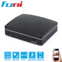 Funi Mini 4CH 1080N AHD DVR Motion Detected P2P Four Ways to Backup 1080N 4Channel Video Recorder For IP AHD CCTV Camera System