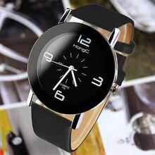 2016 YAZOLE Style Wristwatch Modern Distinctive Leather-based Watchband Watch Girls Quartz Costume Watch