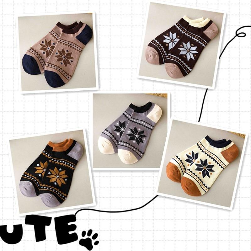 5Pairs hemp socks funny Maple Leaf High Quality Socks Deodorant Absorb Sweat Cotton Ankle unisex weed socks with hemp Men socks
