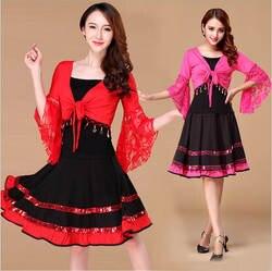 Производительность Кружева Латинской платье для танцев Для женщин Samba Детский костюм Танго для Бальных Танцы Костюмы для сальсы Платья Saia