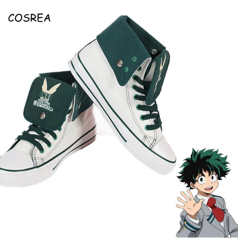 Us 6 05 11 Off Anime Boku No Hero Academia Bakugou Katsuki Izuku Midoriya My Hero Academy Cosplay Props Running Shoes Halloween Party Man Boys In