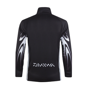 Image 3 - 2020 חדש Daiwa חולצה מקצועי דיג חולצה במבוק סיבי Upf 50 + לנשימה מהיר יבש אנטי Uv חולצה בגדי דיג