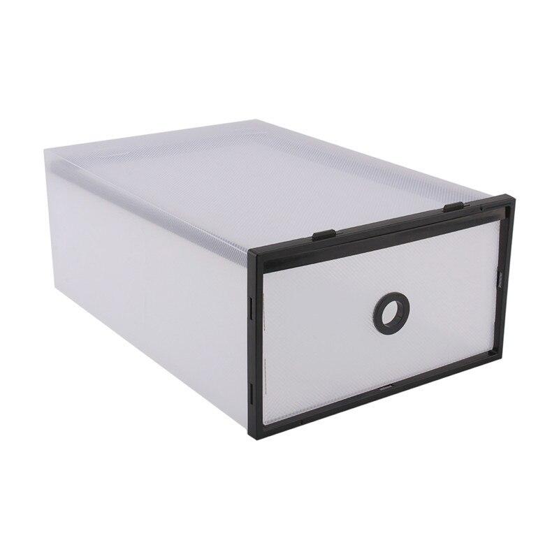 Double Storage Box Organizer Box Sundries Organizer Case Shoe Box