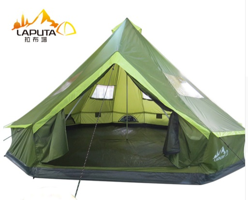 UV 8 10 12 Person Waterproof Yurt Flame Tent Party Family Teepee Tent Car Awning Hiking Pergola Tent Outdoor C&ing Relief Tent  sc 1 st  AliExpress.com & UV 8 10 12 Person Waterproof Yurt Flame Tent Party Family Teepee ...