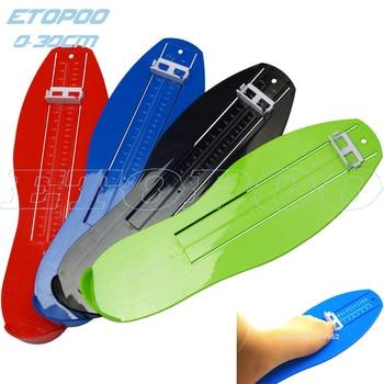 0-30cm Foot measure tool shoes helper 18-50 euro size Foot measuring gauge shoes size calculator  color is random резак для щеток стеклоочистителей