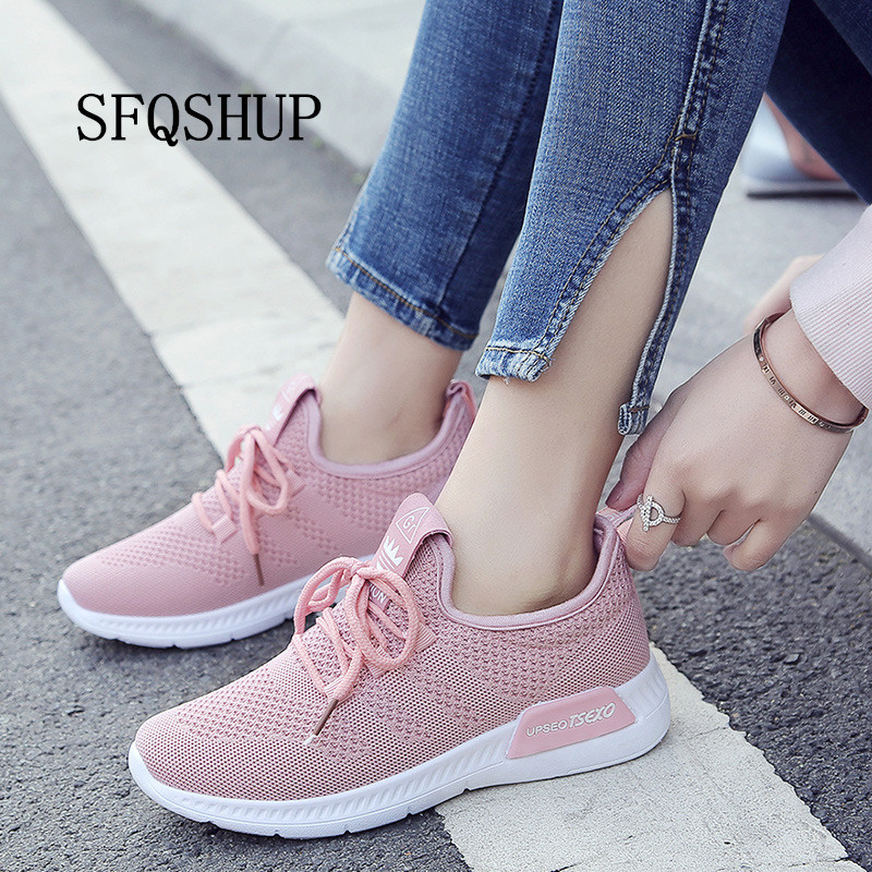 New Arrival Breathable Flat Shoes Woman