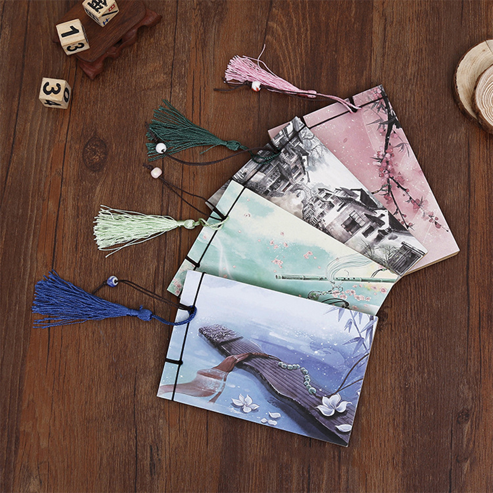 Hot Sketchbook Diary 15*10cm Chinese style NoteBook 2017 Stationery office school supplies gift for kids filofax