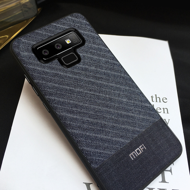 MOFi Samsung Galaxy Note 9 Gentleman Business Style Back Case Cover