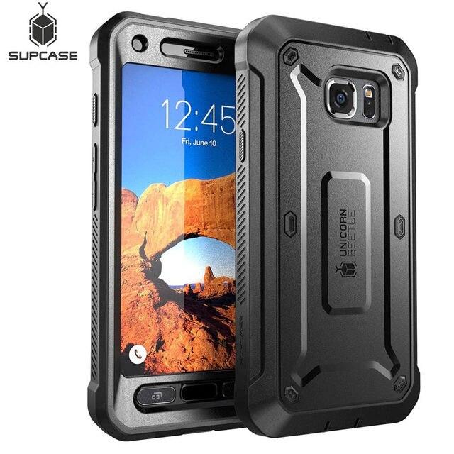 Samsung Galaxy S7Active kılıf SUPCASE UB Pro serisi tam vücut sağlam kılıf darbeye dayanıklı kapak için dahili ekran koruyucu ile