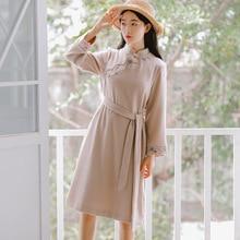 chinese dress qipao hanfu cheongsam dress traditional chinese clothing for women cheongsam modern women dress цены