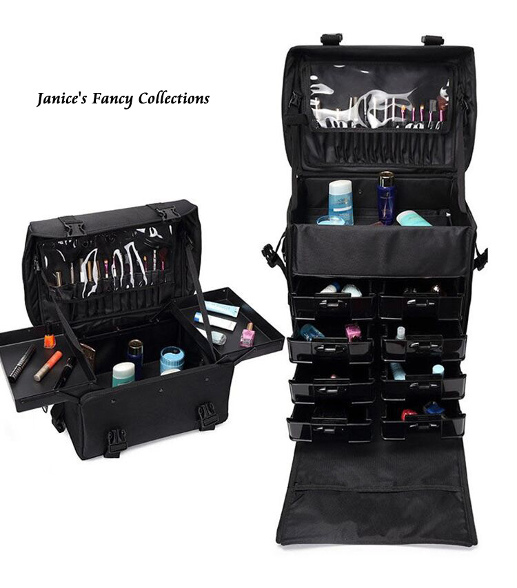 New Professional Designer Makeup Organizer Trolley