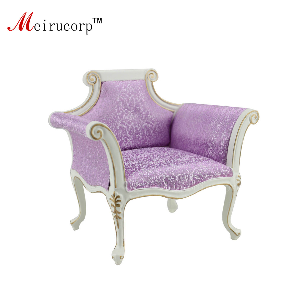 Doll Miniatues 1 6 Scale Luxuriant Furniture Handmade Gilt