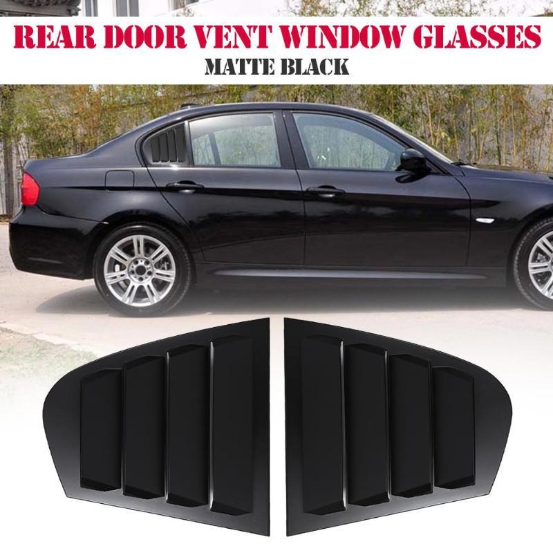 Auto voiture arrière gauche + droite voiture porte fixe évent vitre de remplacement pour BMW 3 Series E90 2009-2011