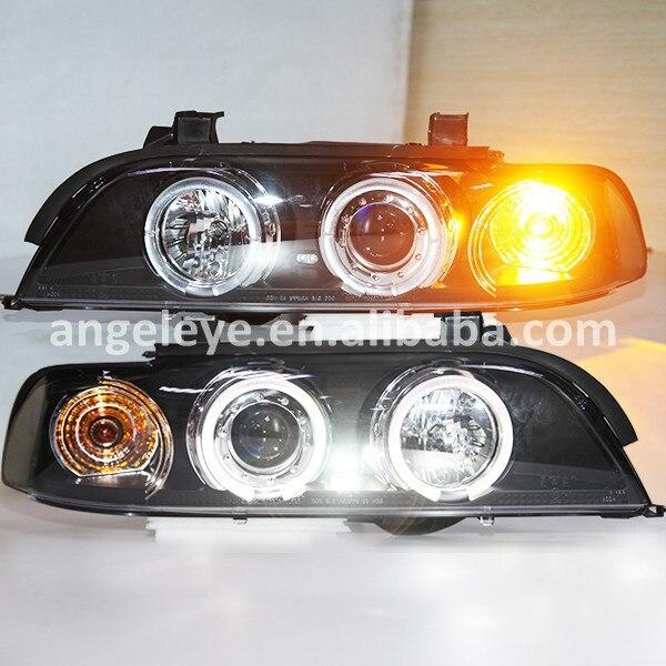 1995-2003 Year for BMW E39 LED Angel Eyes Head Lights SN  цена и фото