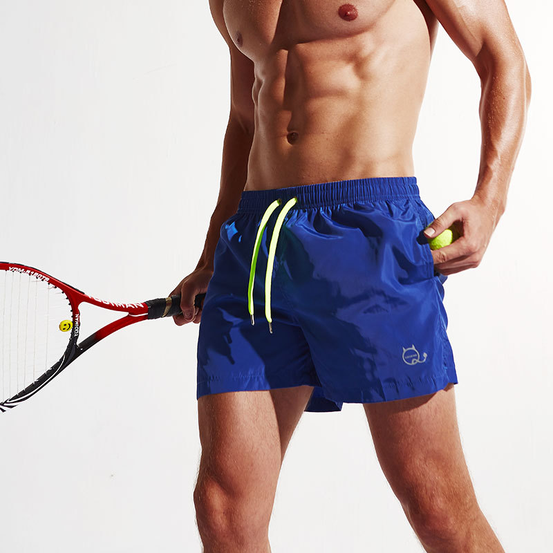 New Summer Man Beach board Shorts Leisure Sport Running Jogger Table tennis Shorts Fast Dry Sea Surf Shorts