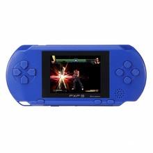 Портативный игровой плеер Дети 16 бит PXP3 2,7 дюймов дети видео игры плеер с 2 шт. игровая карта консоль встроенный 150 классические игры