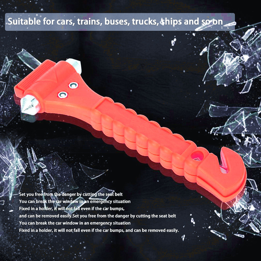 OUTAD Mini automobilių saugos plaktukas, gelbėjantis avarinį - Rankiniai įrankiai - Nuotrauka 5