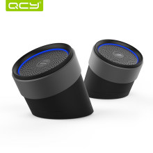 QCY QQ1000 3D Stereo dual-speakers Bluetooth V4.2 metal speakers with large capacity battery(China)