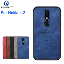 PINWUYO Case For Nokia 4.2 Cover Back TPU + PC Shell Phone