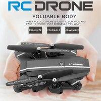RC Foldable Drone FPV Wifi Quadcopter Remote Control Selfie Dron With HD Camera VS Visuo Xs809