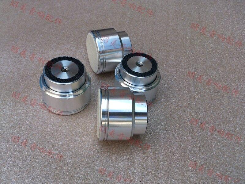 4pcs Maglev Amplifier feet Shock Spikes Damping mats Diameter: 48mm height: 40mm