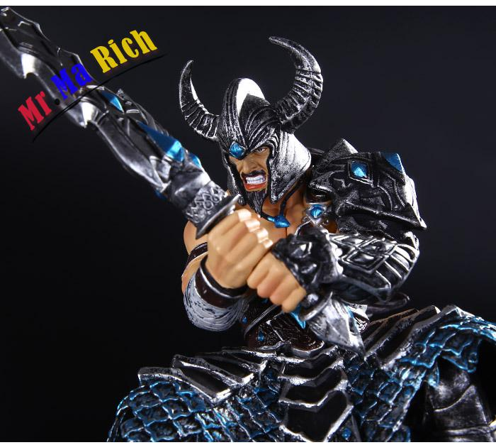 New Hot Action Figure Giocattoli 25 Cm The Barbarian Re Tryndamere