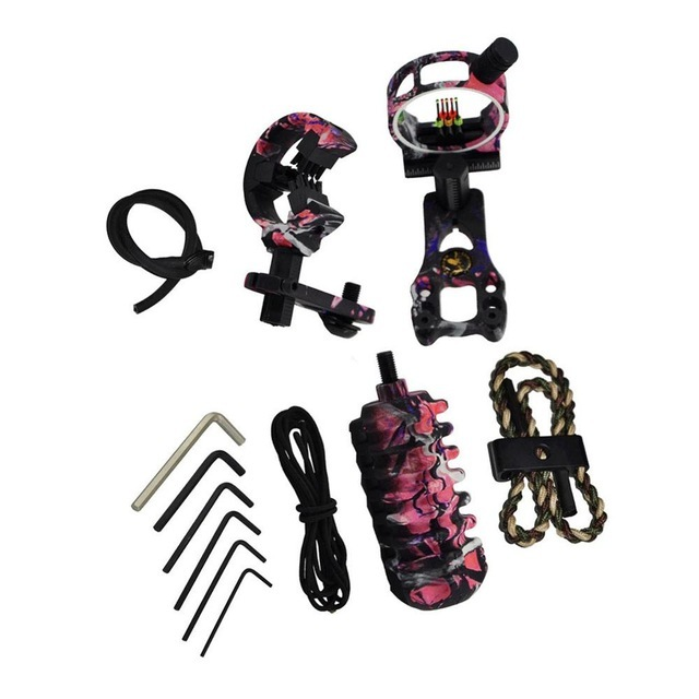 Hunting Archery Crossbow Bow Accessories Combo Bow Sight Kits Arrow Rest Compound Bow Stabilizer String Wax 5