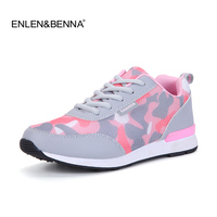 2016 Fashion Women Flats Trainers Breathable Sport Woman Shoes Lace Up Casual Outdoor Walking Shoes Comfortable