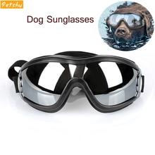 Petshy Dog Sunglasses UV Protection Eye Pet Glasses Goggles Medium Large Wear Swimming Fashion Show Accessories