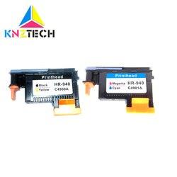 KNZTECH dla 940 głowicy drukującej C4900A C4901A głowica drukująca Officejet Pro 8000 8500 8500A A809a A809n A811a A909a A909n A909g A910a