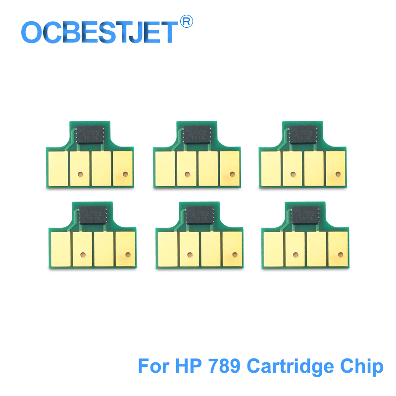 For HP 789 Ink Cartridge Chip New Upgrade Chip Compatible For HP Designjet L25500 Printer CH615A CH616A CH617A (BK C M Y LC LM)|cartridge chip|printer chipchip cartridge - AliExpress