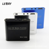 LEORY 1080P Mini HDD Media Player HDMI AV USB HOST Full HD With SD MMC Card