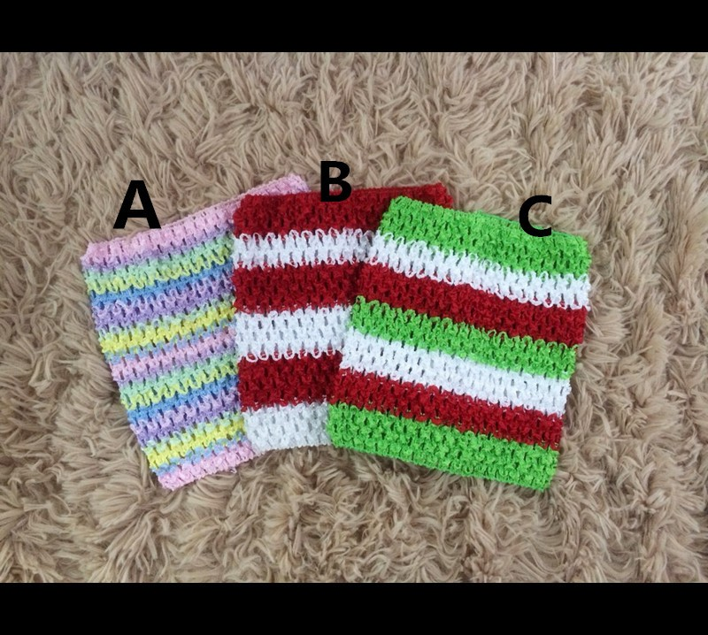 2015 Christmas Gifts Baby Crochet Headband Girls Tube Top For Tutus