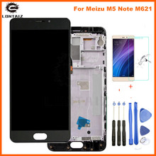 Meizu M5 Note LCD Display Touch Screen Digitizer For Meizu M5 Note LCD With Frame M621H M621Q M621M M621C Screen Replacement for meizu m2 note lcd display touch screen with tools glass panel accessories phone replacement for meizu m2 note 4g