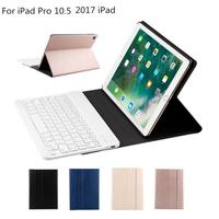 Mosunx Wireless Bluetooth Keyboard Leather Case For Apple IPad Pro 10 5 Inch 2017 DE26 Dropship