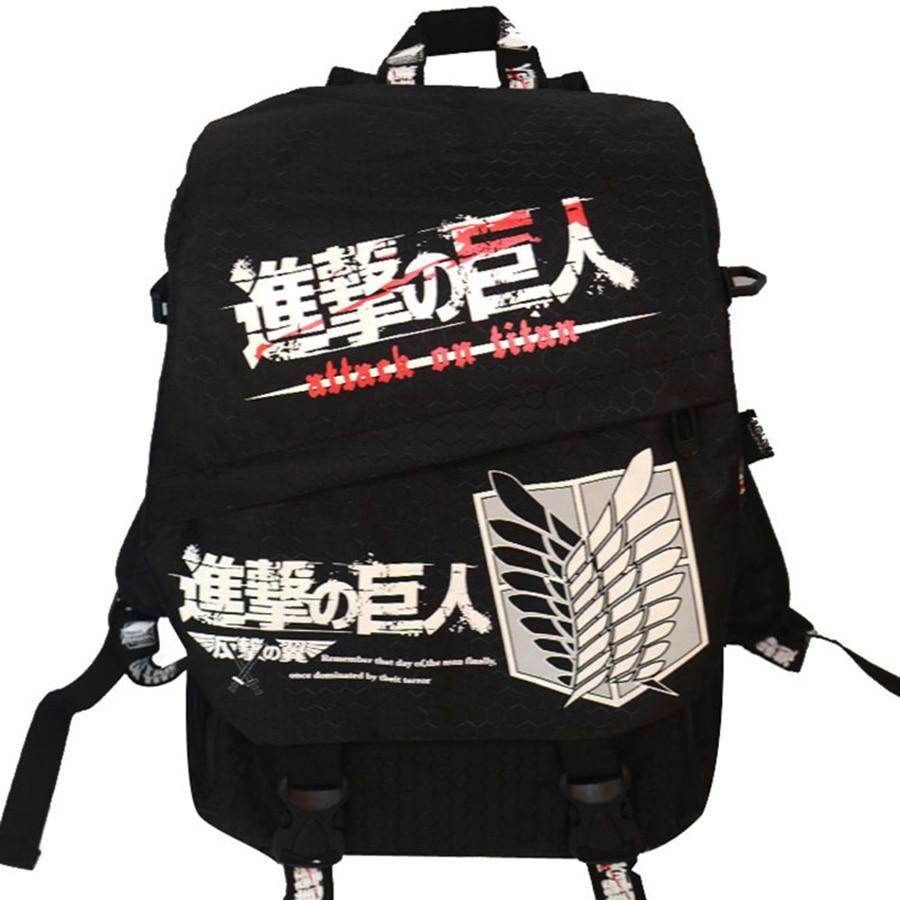 Naruto Hayao Miyazaki Totoro LOL  Bag Anime Backpack School Bags Cartoon Book Bookbag Teenagers My Neighbour Totoro Printed