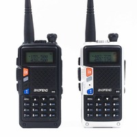 2Pack/lot baofeng 8W UVB3 Plus cb radio handy 10km mobile walkie talkie dual band 136 174/400 520mhz 3600mah battery 128ch LCD