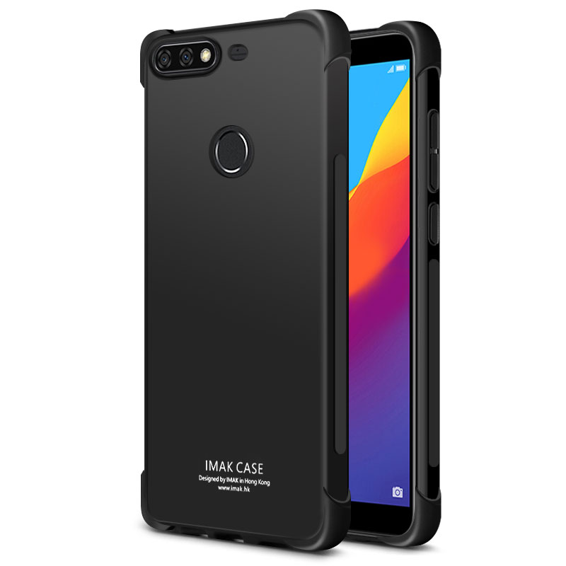 Huawei Y7 Prime 2018 Case IMAK Airbag Shockproof Silicon