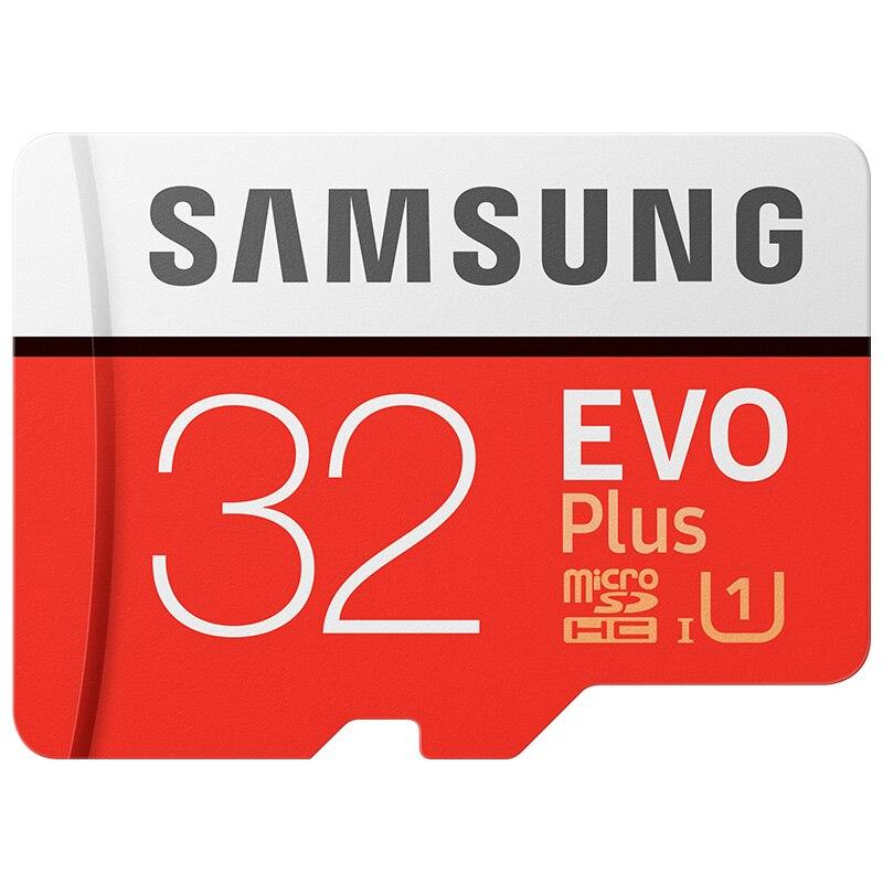 SAMSUNG EVO Plus Memory Card 32GB 64GB 128GB 256G U3 micro sd card C10 UHS-I TF Card 4K HD