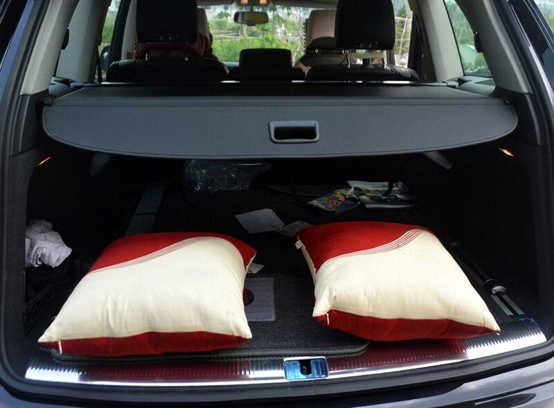 Aluminium alloy + Fabric Rear Trunk Security Shield Cargo Cover For Audi Q7 2007 2008 2009 2010 2011 2012 2013 2014 2015 2016-17 все цены