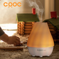 CRDC LIFE 80ML Ultrasonic Air Aroma Humidifier Changing7Color LED Lights Electric Aromatherapy Essential Oil Home Aroma